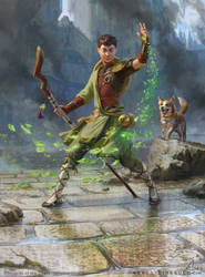 MtG - Jiang Yanggu, Wildcrafter