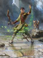 MtG - Jiang Yanggu, Wildcrafter by depingo