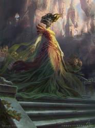 MtG - Vraska, Swarm's Eminence by depingo