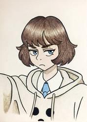 Grumpy Portrait of Ella?