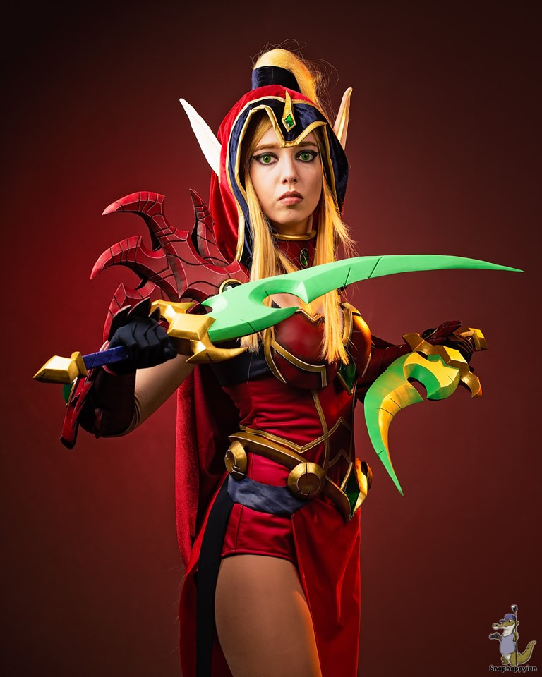 Valeera Sanguinar Cosplay (World of Warcraft)