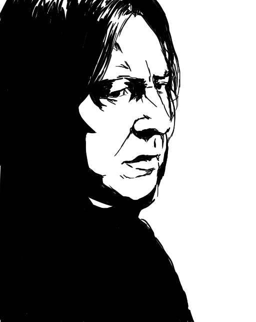 Severus Snape by thatfire