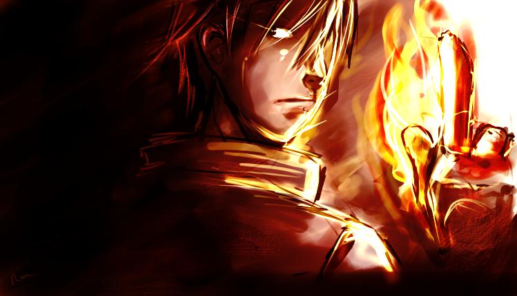 flames by Shiyanikku