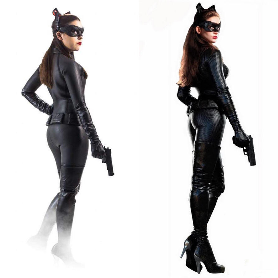 TDKR Catwoman Cosplay Transformation by Staceyleeh on