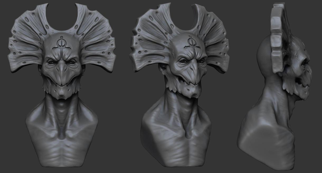 Demon sketch by Ivv74