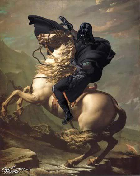 Darth Vader or Napoleon?? by Superbilly77