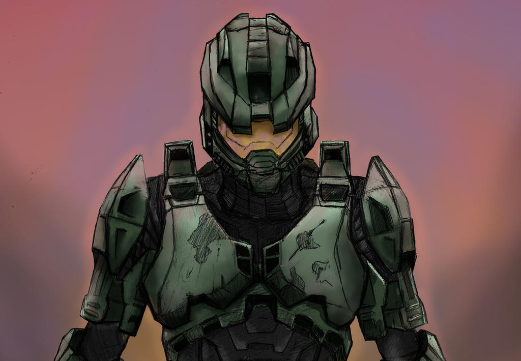 Master Chief Final by Bowsky