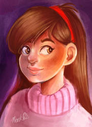 Mabel Pines by marquerbun