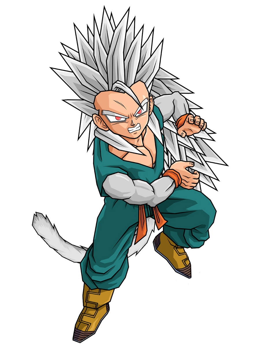 Baby Goku Ssj5 SSJ5 Kid Trunks by Spi...