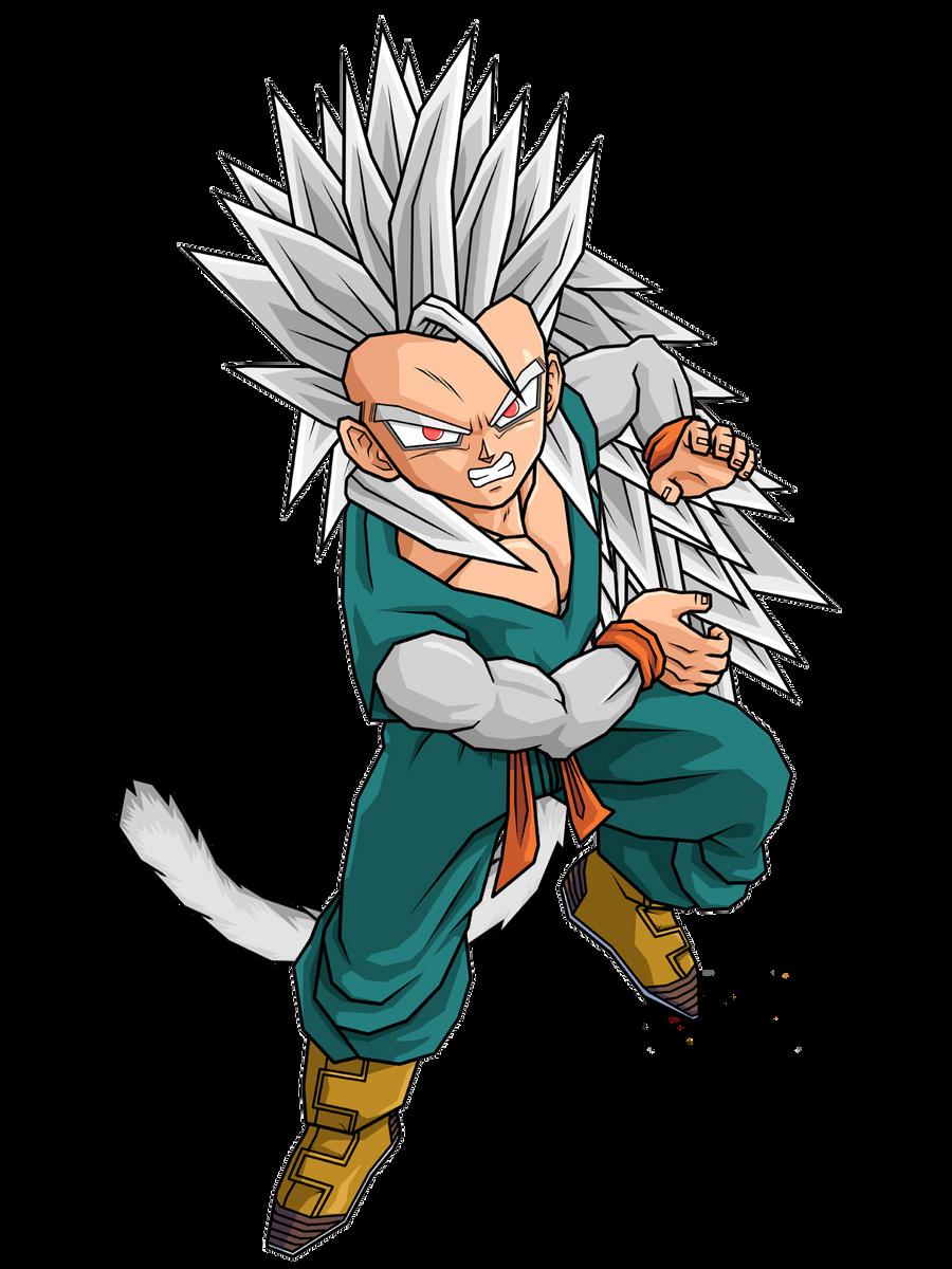 Kid Trunks Super Saiyan 5