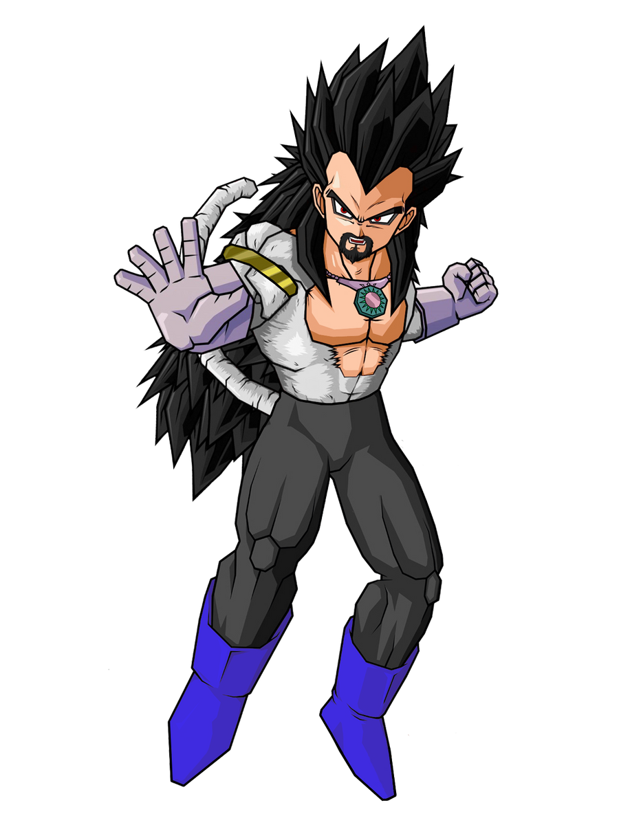 SSJ5 King Vegeta by SpinoInWonderland on DeviantArt