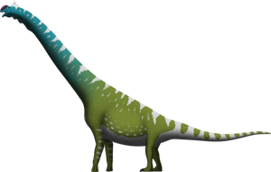 Brachiosaurus altithorax by SpinoInWonderland