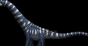 Puertasaurus reuili by SpinoInWonderland