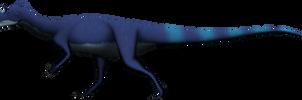Cryolophosaurus ellioti by SpinoInWonderland