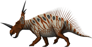 Styracosaurus albertensis by SpinoInWonderland