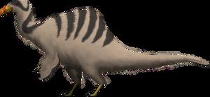 Deinocheirus mirificus (2014) by SpinoInWonderland