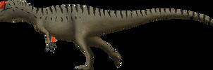 Allosaurus fragilis by SpinoInWonderland