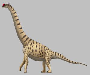 Lapparentosaurus madagascariensis by SpinoInWonderland