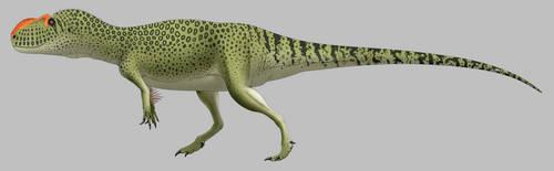 Yangchuanosaurus shangyouensis by SpinoInWonderland