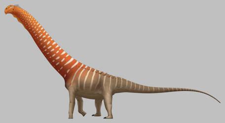Futalognkosaurus dukei by SpinoInWonderland