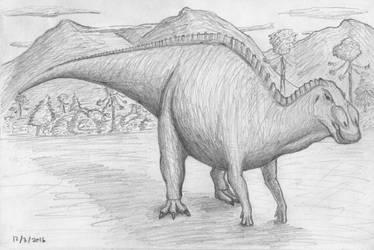 Anatotitan (2016) by SpinoInWonderland