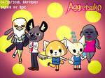 Aggretsuko (or Aggressive Retsuko) by Fester1124