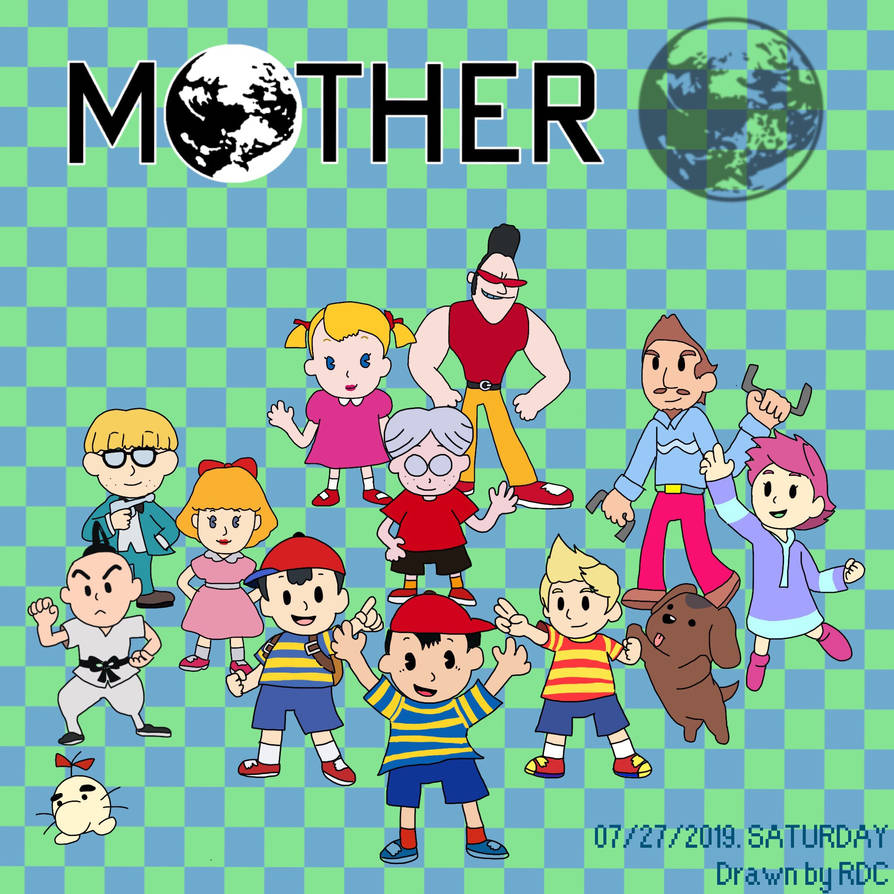 Earthbound / Mother 30th Anniversary by Fester1124 on DeviantArt