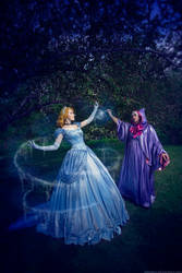 Cinderella and Fairy Godmother by KikoLondon
