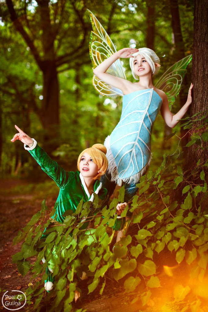 Secret of the Wings - Tinkerbell and Periwinkle