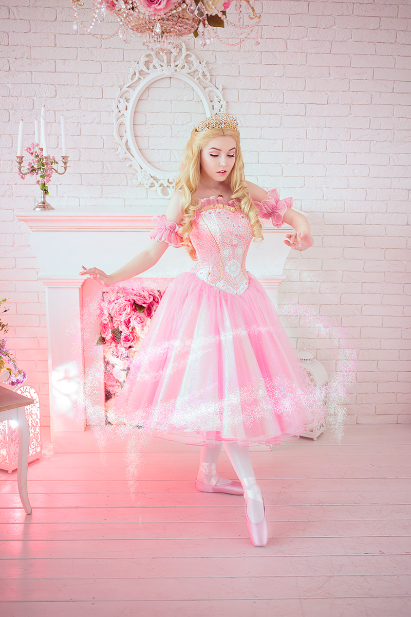Barbie In Pink Shoes Dress