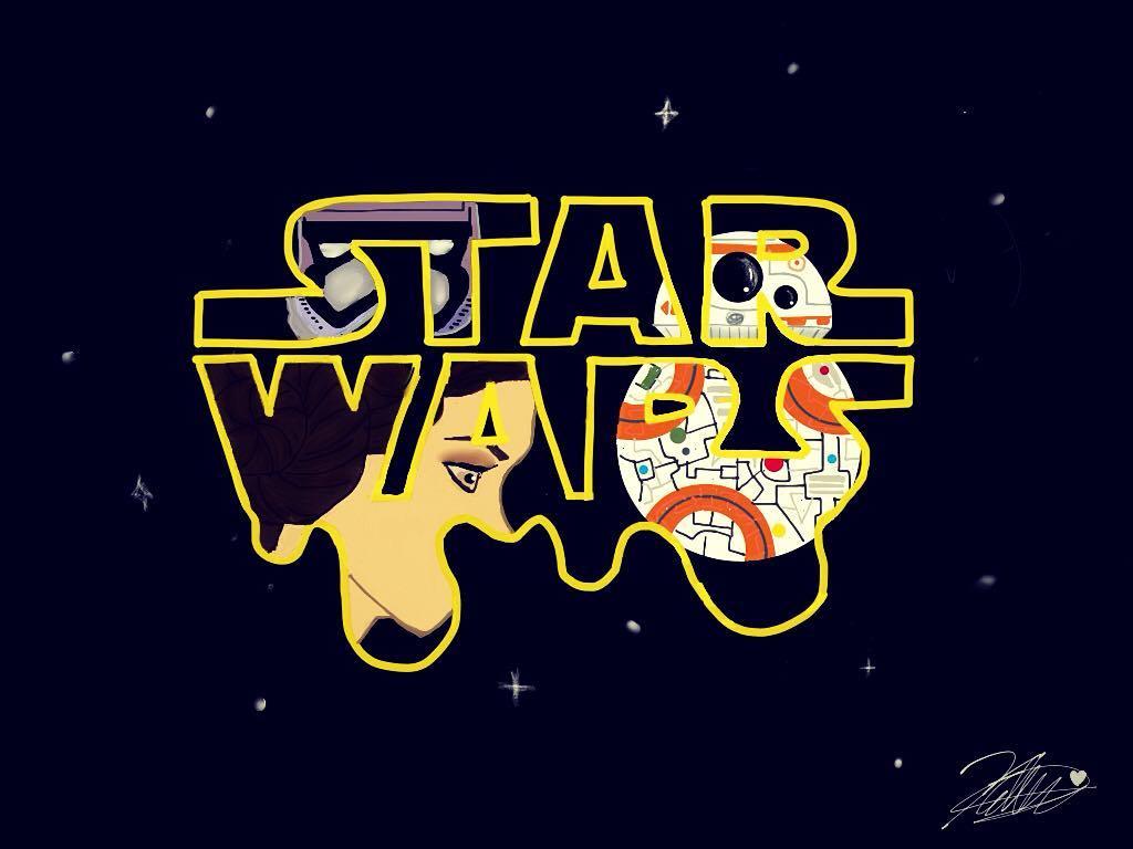 First post... STAR WARS FAN ART!!!!!!!! by Kellythecrafter40