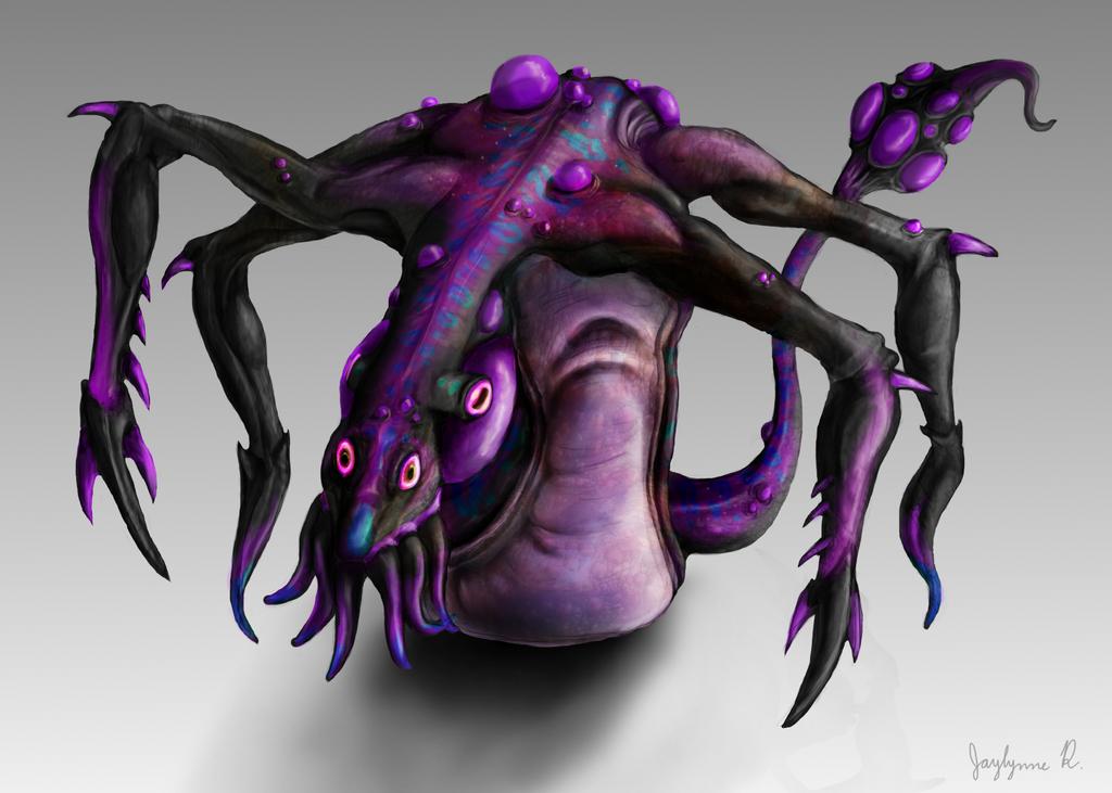 Venenoso concept art by LechuzaAbstracta