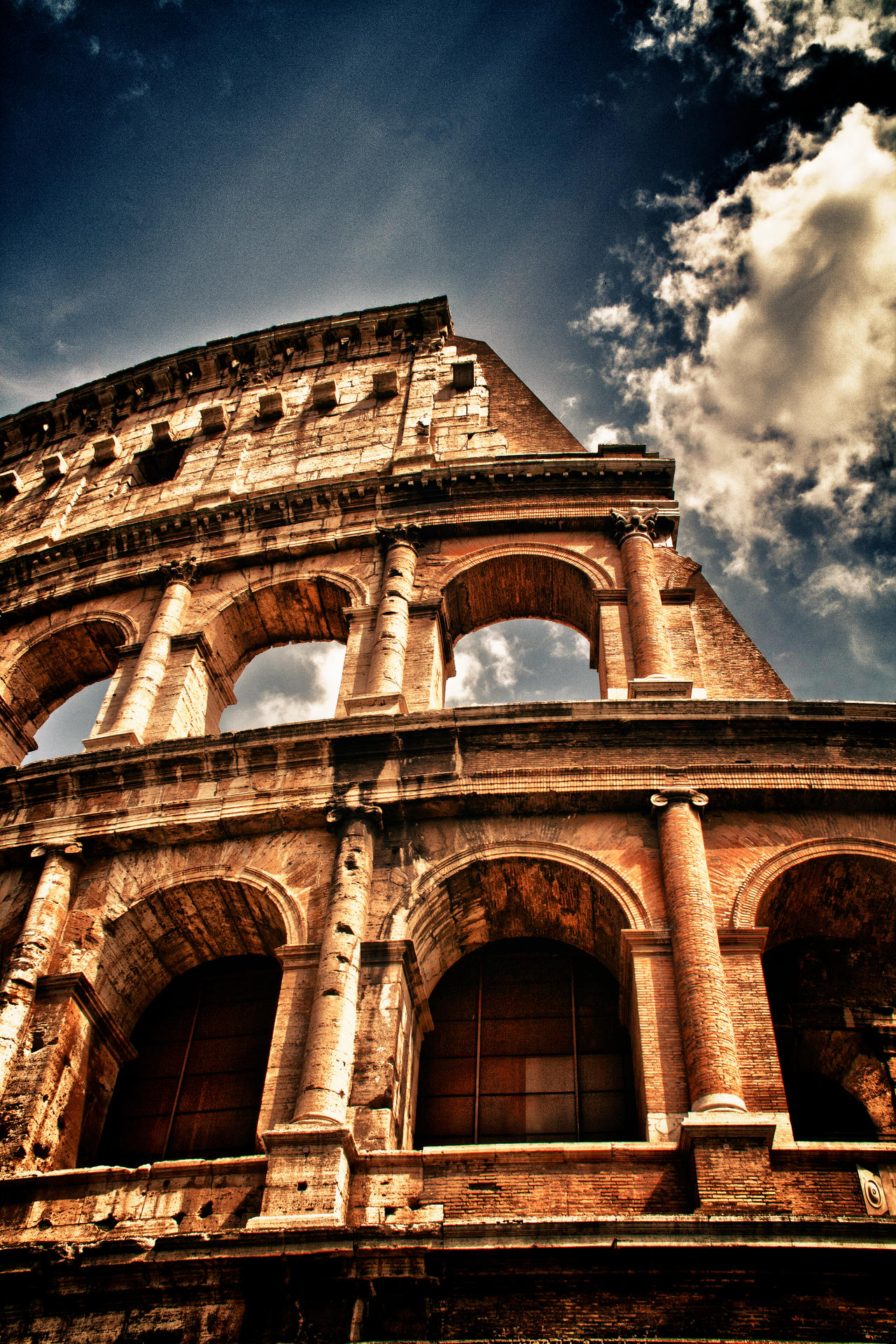 Colosseum HDR by scwl on DeviantArt HD Wide Wallpaper for Widescreen