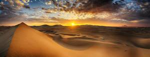 Huacachina Sunset by scwl