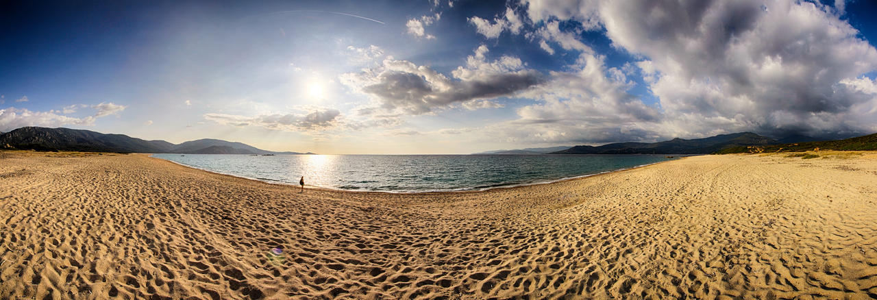 Propriano Panorama by scwl