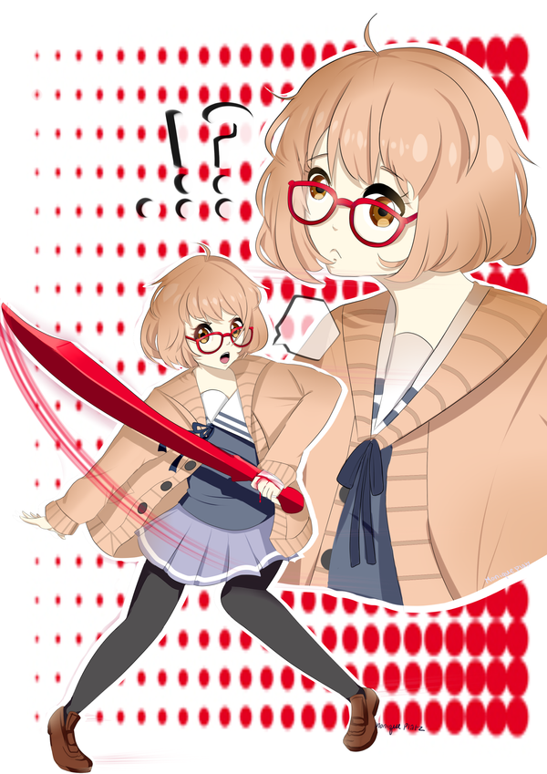 Beyond the Boundary...!? by MomoChocolate