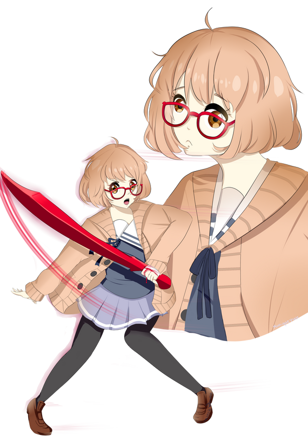 Beyond the Boundary TRANSPARENT by MomoChocolate