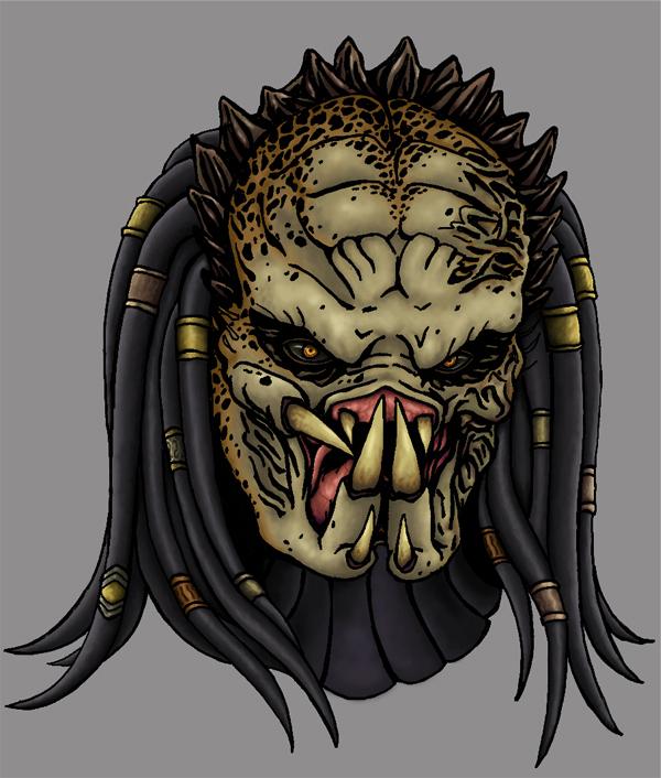 Predator Wolf face by VR85 on DeviantArt