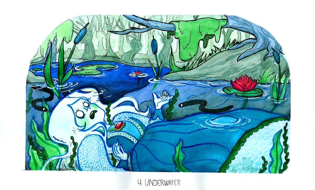 04. Underwater by ElkeBun