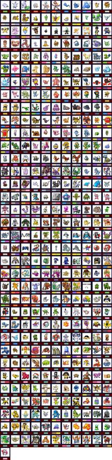 Pokemon Clover National Pokedex (8 Gym Demo)