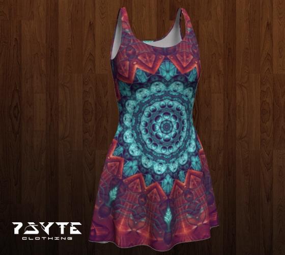 Mandala Dress by PsyteClothing