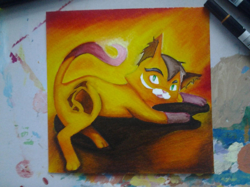 Tombow Cat by Fireworks-Explode