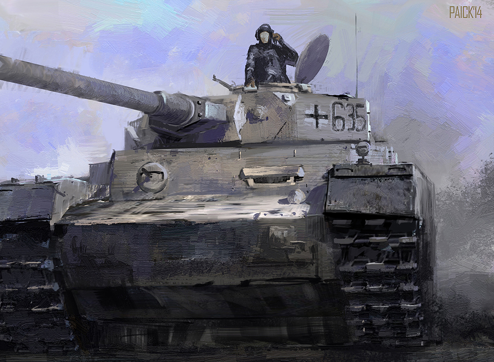 WW2 Series - Tank by JamesPaick on DeviantArt