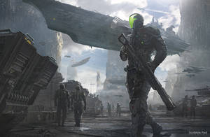 Battle Prep - Concept Design by JamesPaick