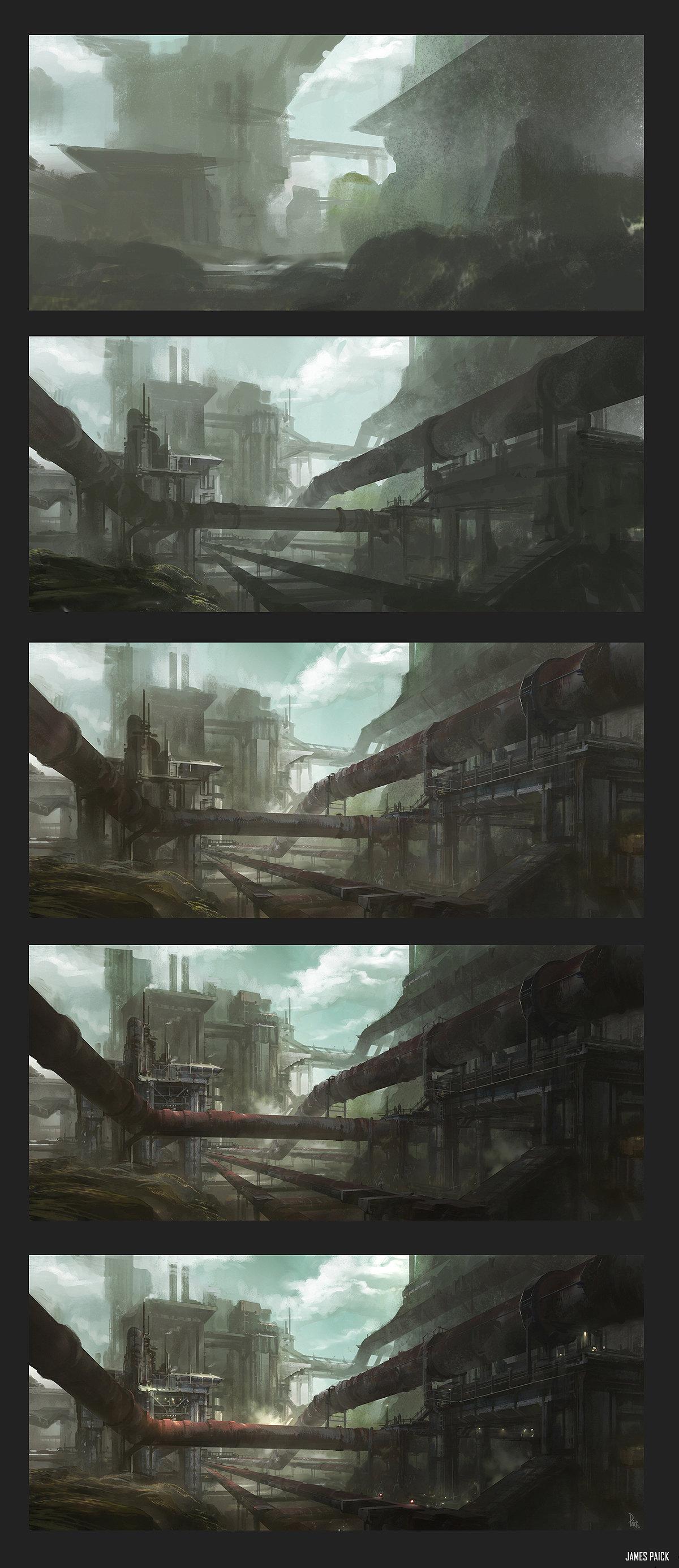 World Building -Establishing a Themed Environment by JamesPaick