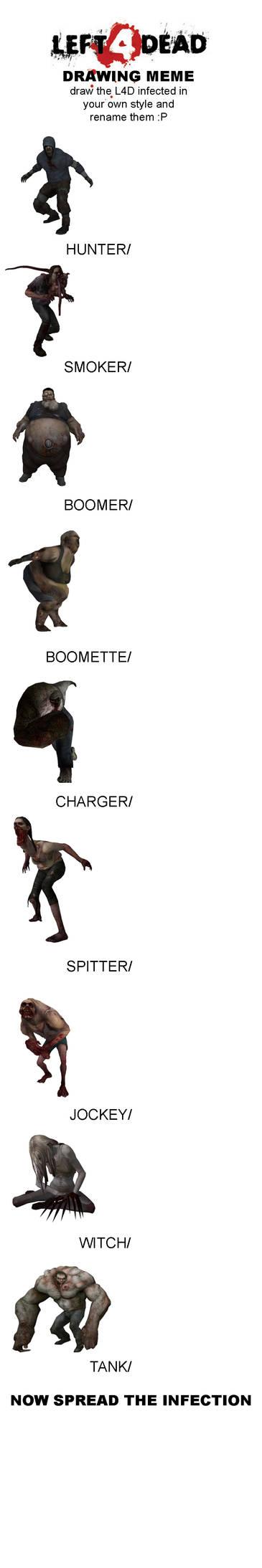Left 4 Dead Infected Meme
