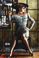 Rachael from Blade Runner by Erik-Maell