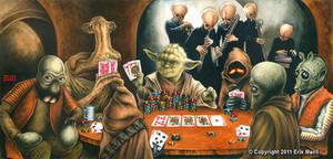 Yoda Playing Poker