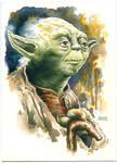 Yoda SWCV SketchCard