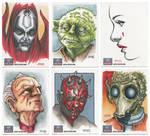 Star Wars Galaxy 7 Sketch Cards